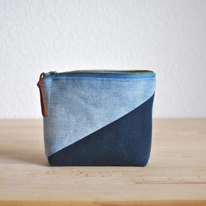 Upcycling Täschchen aus reused Jeans