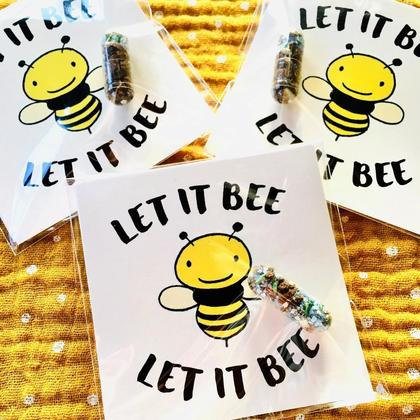 """Let it Bee"" GRÜMI inkl. Blühanleitung"