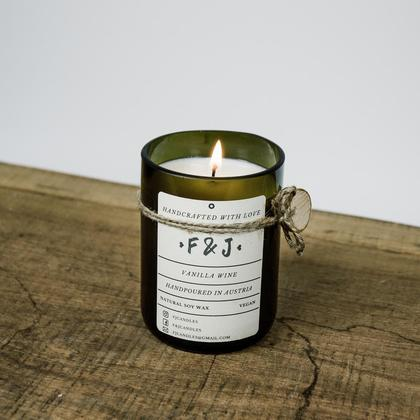 F&J Candles Vanille