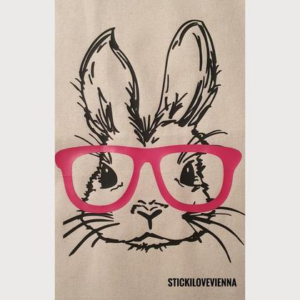 Stofftasche Hase Natur