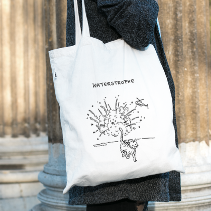 Katerstrophe (Fairtrade Stofftasche)