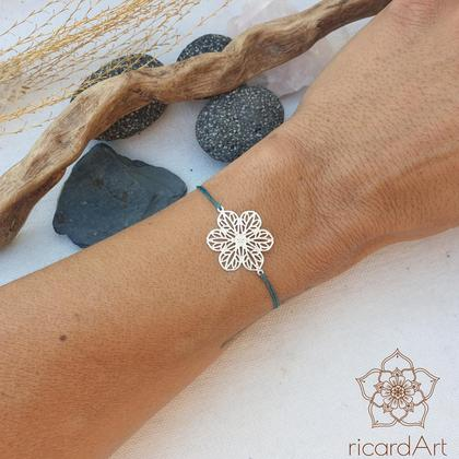 Armband 'Silver Flower'