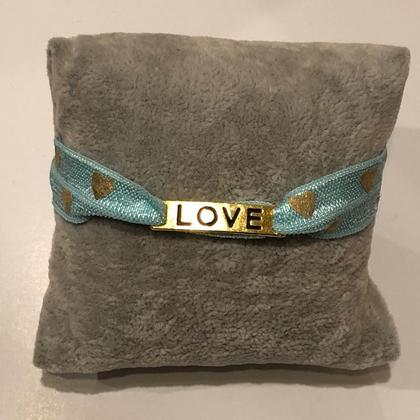 Armband - Haarband - Love